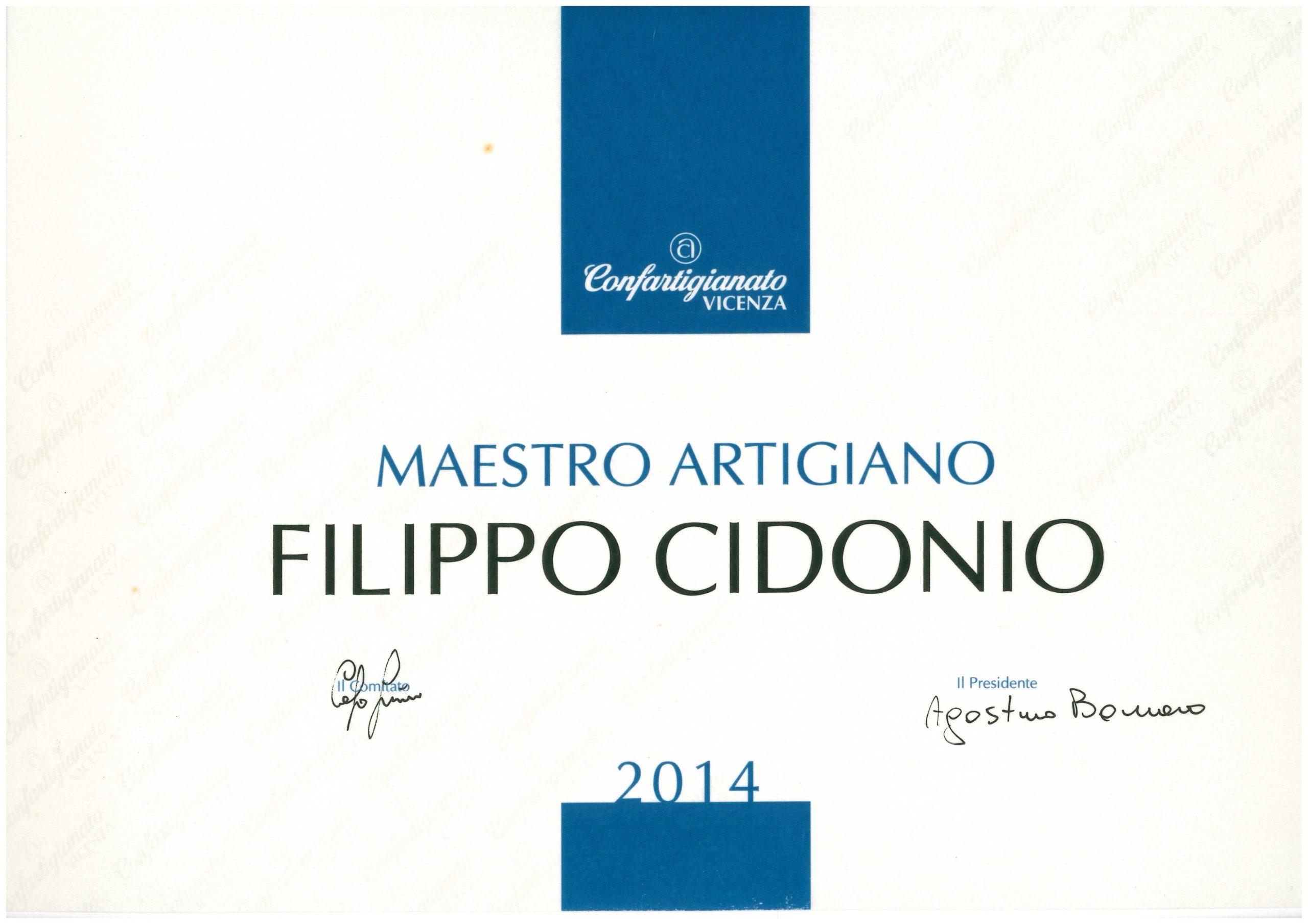 Industry award Vicenza 2014